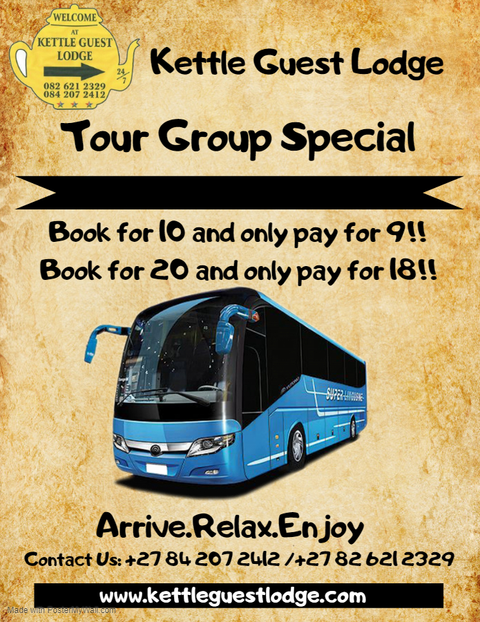Tour Group Special